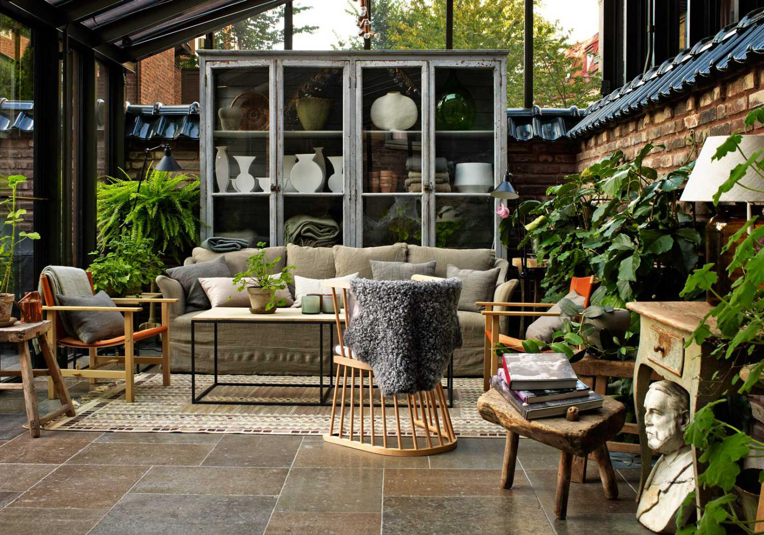 Ett hem, a small luxury hotel in Stockholm with a wonderful interior by Ilse Crawford.