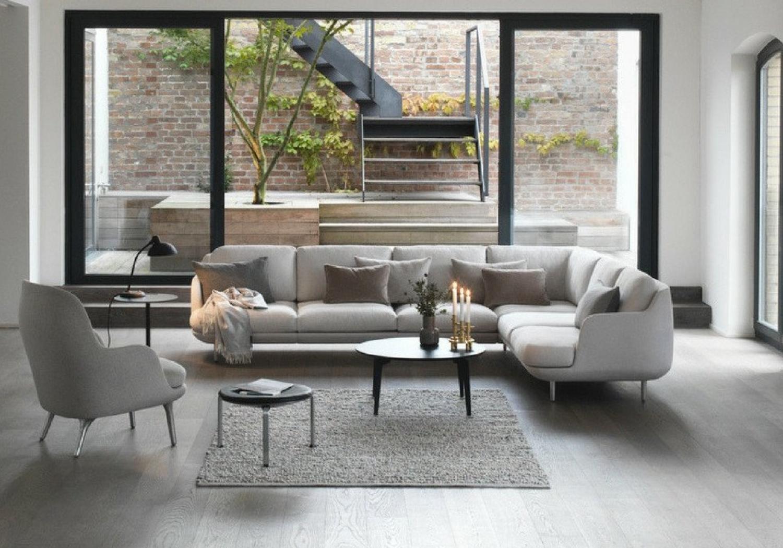 Fritz Hansen Lune Sofa - corner sofa