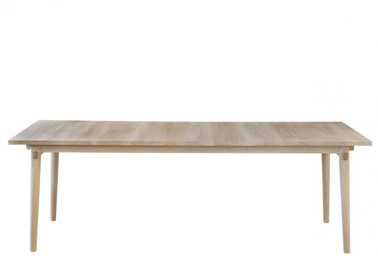 pp850 extendable table from PP Møbler -  in oak, 222 cm to 366 cm