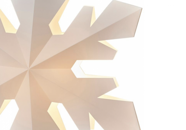 Snowflake Le Klint   The Love & Light Project